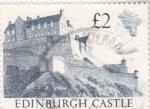 Stamps United Kingdom -  castillo de Edinburgo