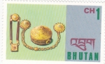 Stamps : Asia : Bhutan :  artesania