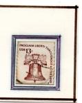 Stamps : America : United_States :  Proclama libertad