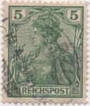 Stamps Germany -  Y & T Nº 53