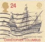 Stamps : Europe : United_Kingdom :  Carabela EUROPA CEPT