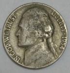 monedas de America - Estados Unidos -  1954 dice cents