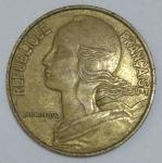 monedas de Europa - Francia -  1983 - 20 centime