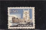 Sellos de Europa - Portugal -  torre de Belem- Lisboa