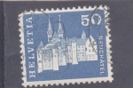 Stamps : Europe : Switzerland :  castillo de Neuchatel