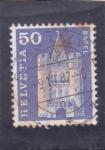 Stamps : Europe : Switzerland :  castillo de <basel