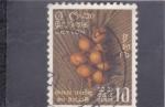 Sellos de America - Sri Lanka -  fruta tropical