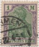 Stamps Germany -  Y & T Nº 128