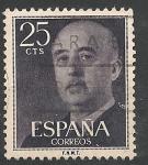 sellos de Europa - España -  General Franco. ED 1146
