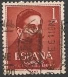 Sellos de Europa - España -  I Centenario del nacimiento de Isaac Albéniz. ED 1321