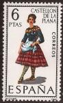 Sellos de Europa - España -  Trajes típicos. Castellón de la Plana 1967  6 ptas