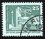 Stamps Germany -  Alexander's place, Berlin