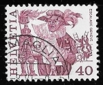 Stamps Switzerland -  Suiza-cambio