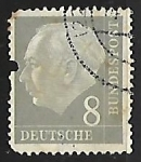 Sellos de Europa - Alemania -  Prof. Dr. Theodor Heuss