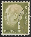 Stamps Germany -  Prof. Dr. Theodor Heuss