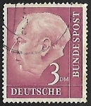 Stamps : Europe : Germany :  Prof. Dr. Theodor Heuss