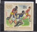 Sellos de Africa - Rwanda -  lucha contra el racismo