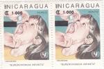 Stamps : America : Nicaragua :  supervivencia infantil