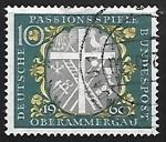 Sellos de Europa - Alemania -  La Pasión hasta en los sellos