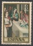 Sellos de Europa - España -  Luis de Morales El Divino (1500-1586). ED 1967