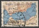 sellos de Europa - España -  I Centenario del Instituto Geográfico y Catastral. ED 2001