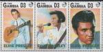 Sellos del Mundo : Africa : Gambia : 15th  ANIVERSARIO  DE  LA  MUERTE DE  ELVIS  PRESLEY