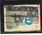 Stamps : Europe : Spain :  60 AÑOS TVE (30)