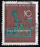 Sellos de Europa - Alemania -  150 años de la impresora