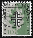 Stamps Germany -  150º ANIVERSARIO DE LAS FIESTAS DE LA GIMNASIA