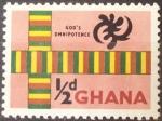 Stamps Africa - Ghana -  Ghana - Omnipotencia de Dios - 1959