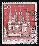 Sellos de Europa - Alemania -  Catedral de kaiserdom