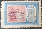 Sellos del Mundo : America : Argentina : Zeppelin - 1° Vuelo - 1930