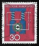 Sellos de Europa - Alemania -  Generador electrico