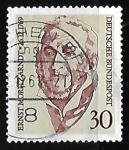 Stamps Germany -  Arndt, Ernst Moritz