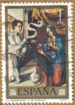 Stamps Spain -  LUIS DE MORALES 'EL DIVINO' - La Anunciacion