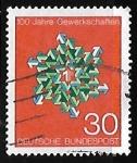 Sellos de Europa - Alemania -  100 años los sindicatos en Alemania