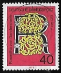 Sellos de Europa - Alemania -  Gandersheim, Roswitha v.