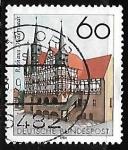 Sellos de Europa - Alemania -  Duderstadt- Townhall