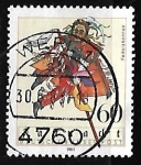 Stamps Germany -  Carnaval | Folklore