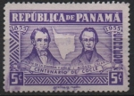 Stamps Panama -  CENTENARIO  DE  LA  PROVINCIA  DE  COCLÉ.  VICTOR  DE  LA  GUARDIA  Y  AYALA  CON  MIGUEL  CHIARIA.