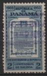 Stamps Panama -  50th  ANIVERSARIO  DE  LA REPÚBLICA.  ACTA  DE  INDEPENDENCIA.