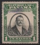 Stamps Panama -  HOMENAJE  A  LOS  MIEMBROS  DE  LA  JUNTA  REVOLUCIONARIA  DE  1903.  DON  NICANOR  DE  OBARRIO.