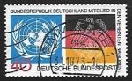 Sellos de Europa - Alemania -  Organizaion de naciones Unidas
