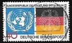 Stamps Germany -  Organizaion de naciones Unidas