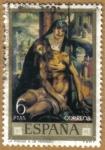 Stamps Spain -  LUIS DE MORALES 'EL DIVINO' - La Piedad