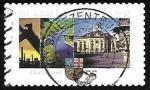 Sellos de Europa - Alemania -  50 Years Saarland federation