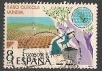 Sellos de Europa - España -  II Año Oleícola Mundial. ED 2557