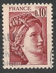 Sellos del Mundo : Europa : Francia : Sabine. SC 1563