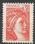 Sellos del Mundo : Europa : Francia : Sabine. SC 1566