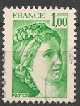Sellos del Mundo : Europa : Francia : Sabine. SC 1571
